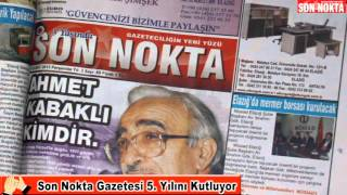 SON NOKTA GAZETESİ 5.YIL