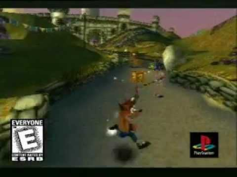 Crash Bandicoot 3 - Promotional Trailer (PlayStation)