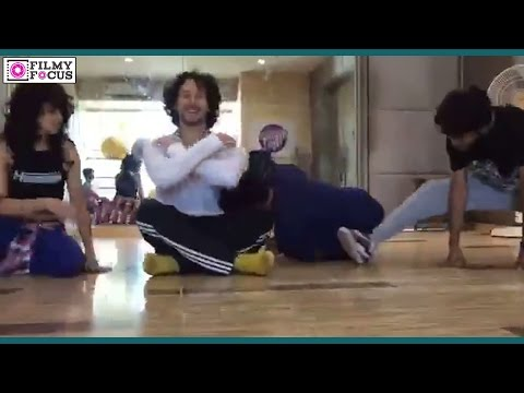 Tiger Shroff Dance Practice Leaked Video - Bollywood Focus