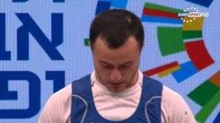 ЧЕ 2014 по Тяжелой Атлетике Тель-Авив мужчины до 56кг