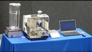 Can the Powder Tester analyze ultra-fine