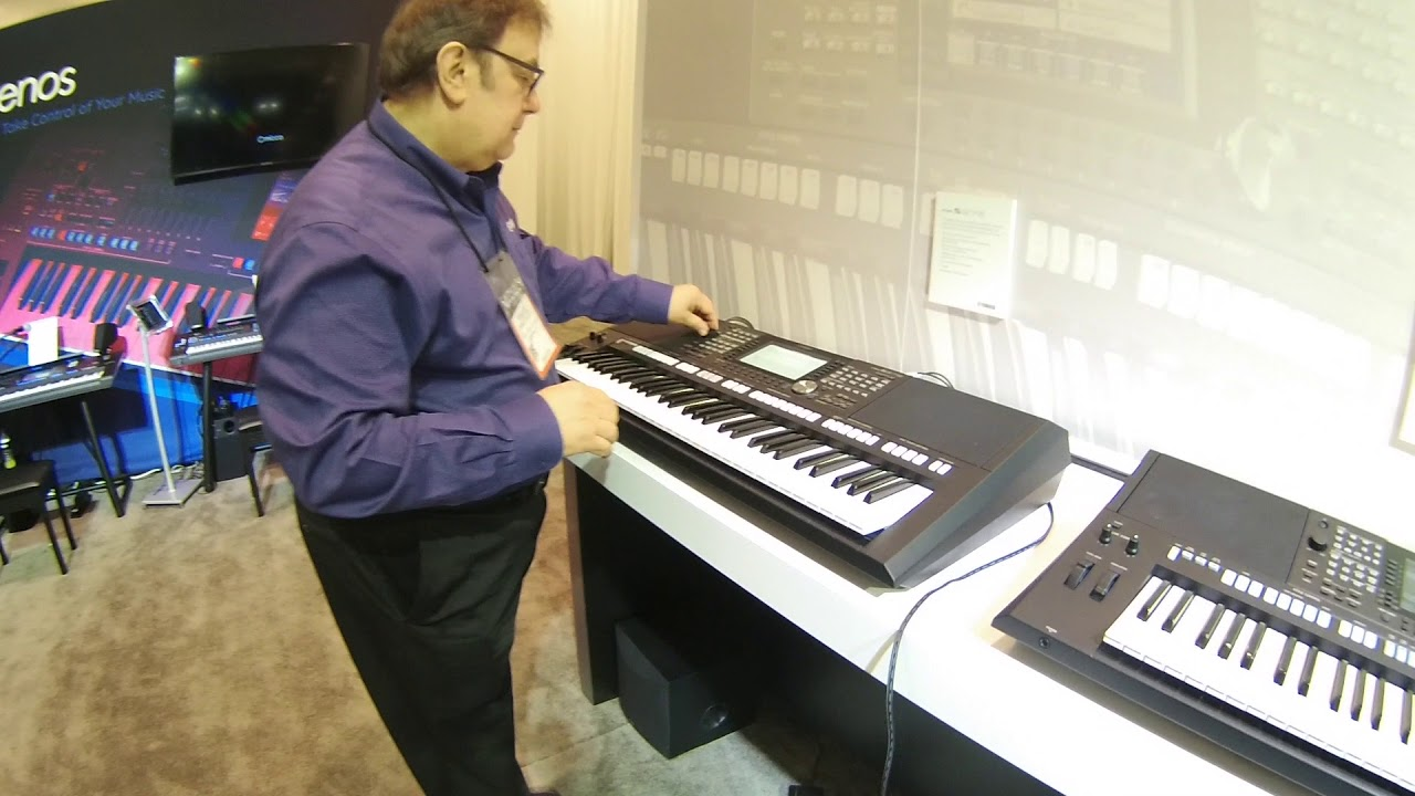namm 2018 yamaha psr s975 and s775 arranger keyboards. Black Bedroom Furniture Sets. Home Design Ideas