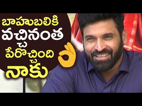 Thumbnail: Actor Subbaraju Gets Excited About DJ Duvvada Jagannadham Movie | TFPC