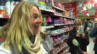 minuut winkelen bij de Boni in Wezep