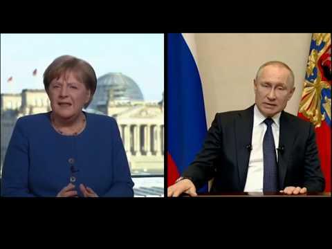 Ангела Меркель и Владимир Путин. Обращение к нации…