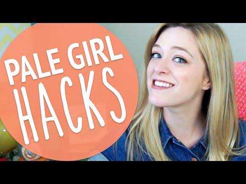 PALE GIRL LIFE HACKS