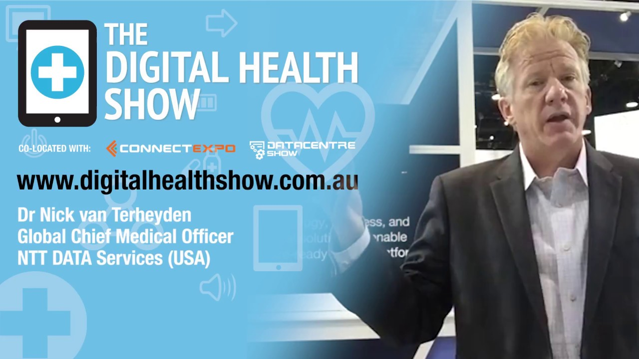 Dr Nick van Terheyden, Global Chief Medical Officer presenting at ...