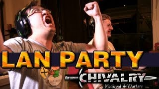 Chivalry Medieval Warfare with freddiew and corridordigital on LAN Party - NODE