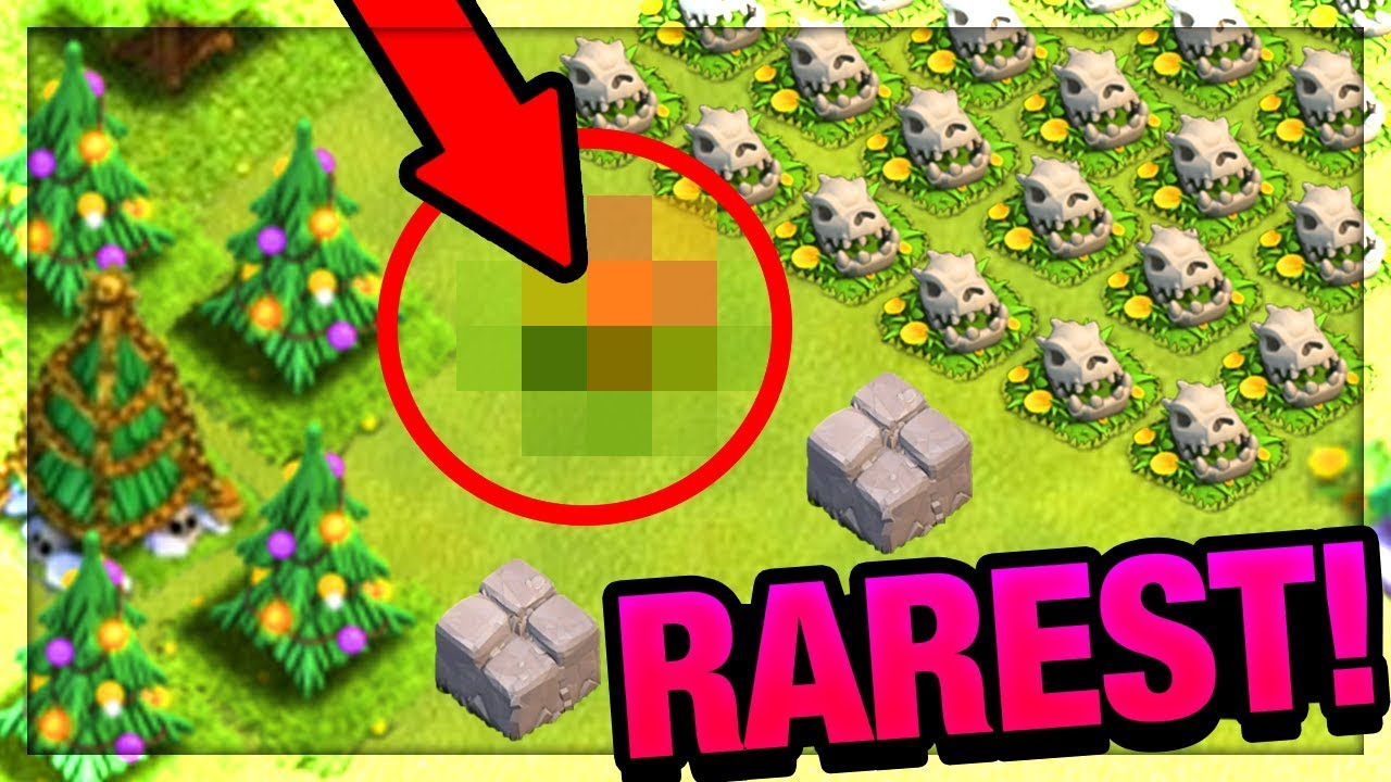Clash Of Clans 2020 Christmas Green Obstacle The 5 RAREST Obstacles in Clash of Clans! Do YOU Have one?! | CoC