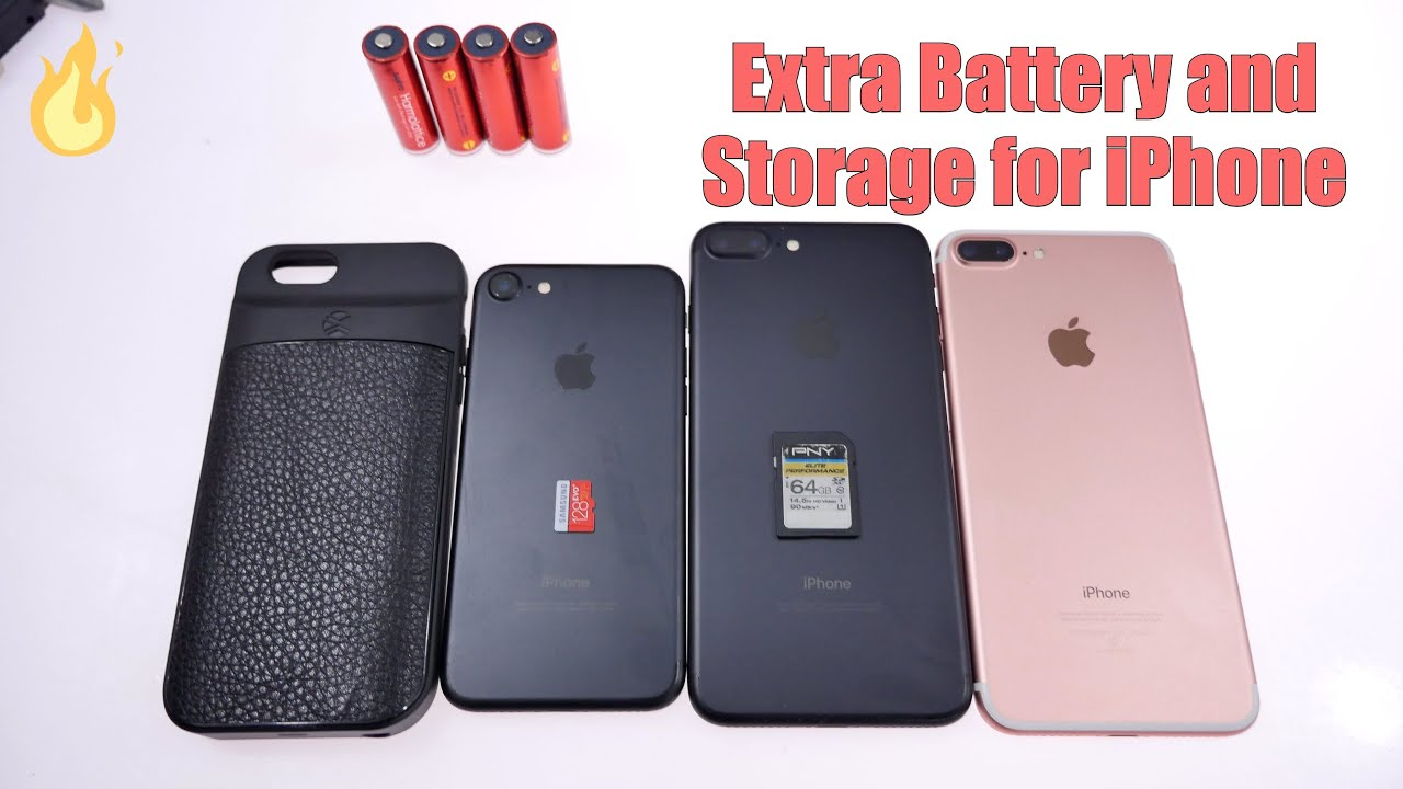 extra storage and battery for iphone ixtra case unboxing youtube
