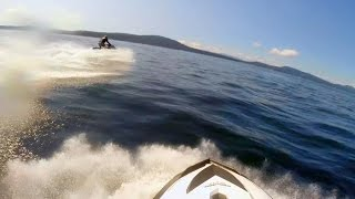 Musclecraft Jet Ski Crescent Beach to Salt Spring Island