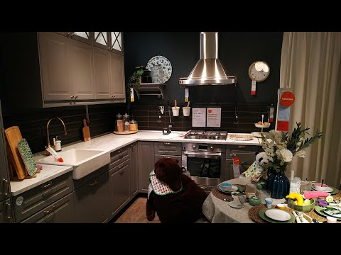 ИКЕА КУХНИ. Показываем кухонные гарнитуры и готовые интерьеры кухонь IKEA