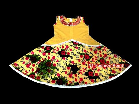Beautiful Model Little Girl Dresses