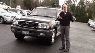 2000 Toyota Land Cruiser review - In 3 minutes you'll be an expert on the 2000 Land Cruiser