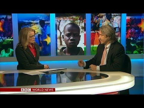 BBC World News America Segment on South Sudan Crisis with Enough Project's John Prendergast