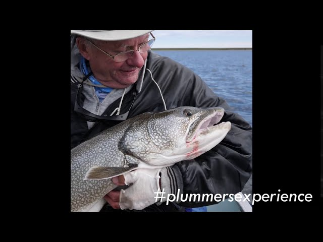 Lake Trout Fishing Highlights | #plummersexperience