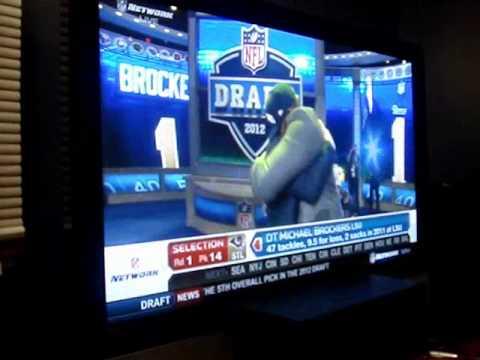 2012 NFL Draft Pick 14 Rams Michael Brockers DT
