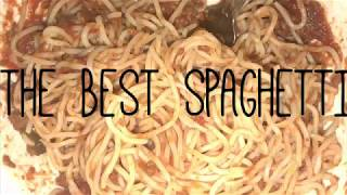 The Best Spaghetti I've Ever Made!