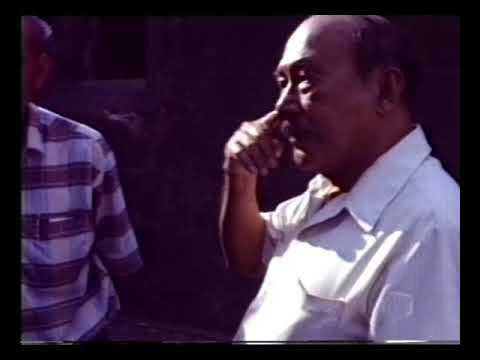 Alfredo Roces Tuting at Fort Santiago 1986