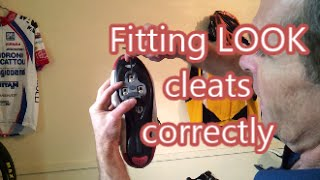 Fitting Look cleats correctly  Pt.1