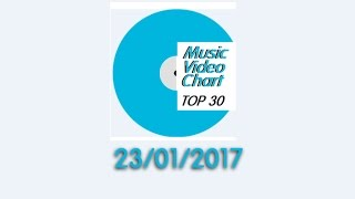 ClipNews Music Video Chart | Top 30 | 23, January, 2017