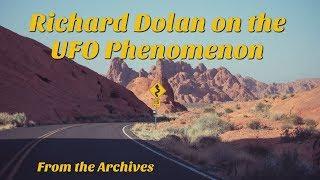 Richard Dolan - UFO Phenomenon Presentation (2016)