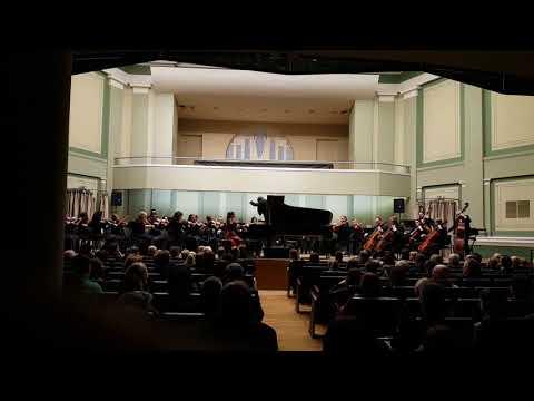 W.A.Mozart - Piano Concerto No.20 in D minor, K466 (1st Movement) - Paula Bagotyriūtė