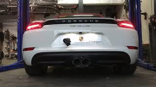 Porsche 718 exhaust system