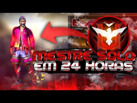 COMO PEGAR MESTRE EM 24 HORAS!! ESTRATÉGIA+DICAS!! FREE FIRE