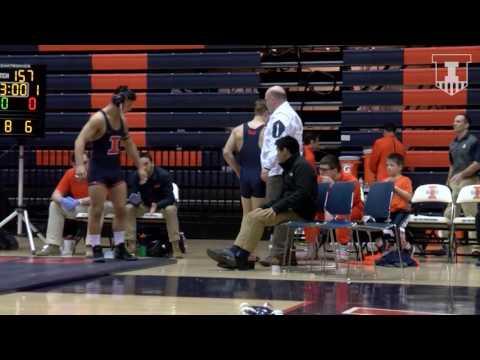 Wrestling vs NIU Highlights 1/22/17