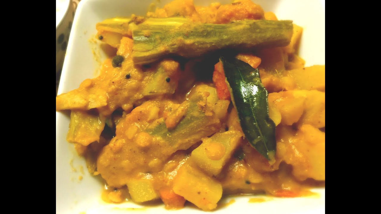 Goan khatkhate goan mix vegetable stew youtube forumfinder Image collections