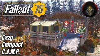 Fully Decorated Small Camp Tour   Fallout 76 Camp Building Guide
