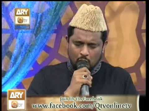 Tum apna daman by Syed Sabih Rehmani in Naat zindagi hai Ramzan2013 with Raees Ahmed