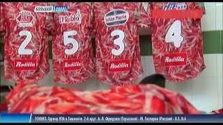 ХАЙЛАЙТЫ: НЕОБЫЧНАЯ ФУТБОЛЬНАЯ ФОРМА или Вкусное ДЕРБИ : Мясо Vs Гарнир(Новая мода в футболе. Да-Да именно мода. Испанские дизайнеры играют на чувстве голода у футбольных фанатов...., 2015-10-01T13:05:37.000Z)