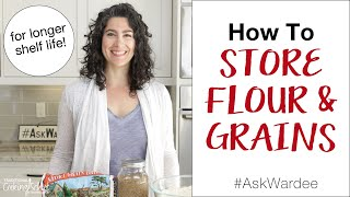 How To Store Fl๐ur and Grains #AskWardee 149