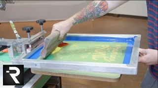 How To Screen Print Multiple Colors With One Screen