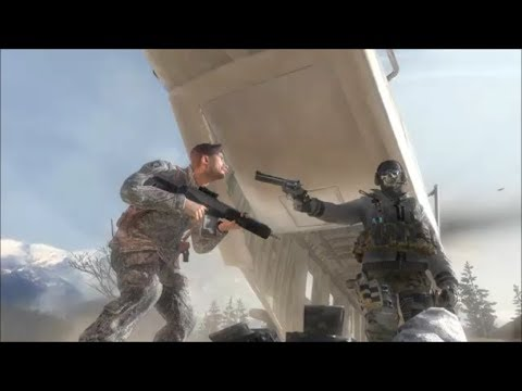 COD MW2 - Ghost Kills Shepherd And Finally Gets His Revenge