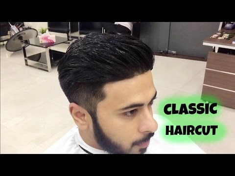 Classic Haircut For Men Trimmers Gents Salon Youtube