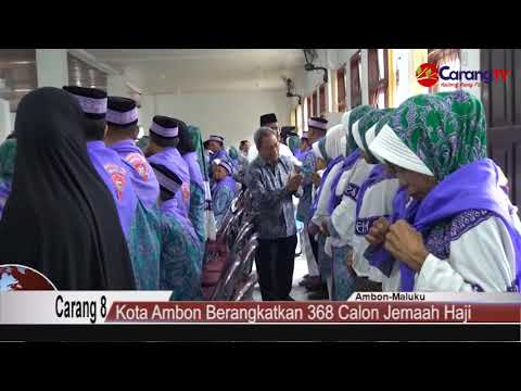 Kota Ambon Siap Berangkatkan 368 Calon Jemaah Haji