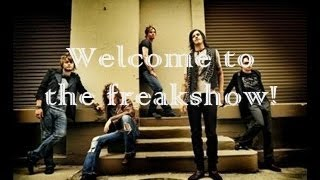 Hinder - Freakshow (lyrics on screen)