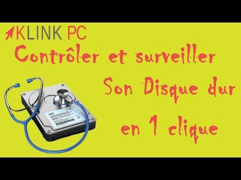 Comment monitorer, contrôler tester et surveiller son disque dur ou ssd facilement et gratuitement ?