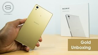 Sony Xperia Z5 Gold Unboxing