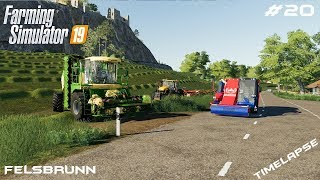 Feeding animals and cutting grass | Animals on Felsbrunn | Farming Simulator 19 | Episode 20