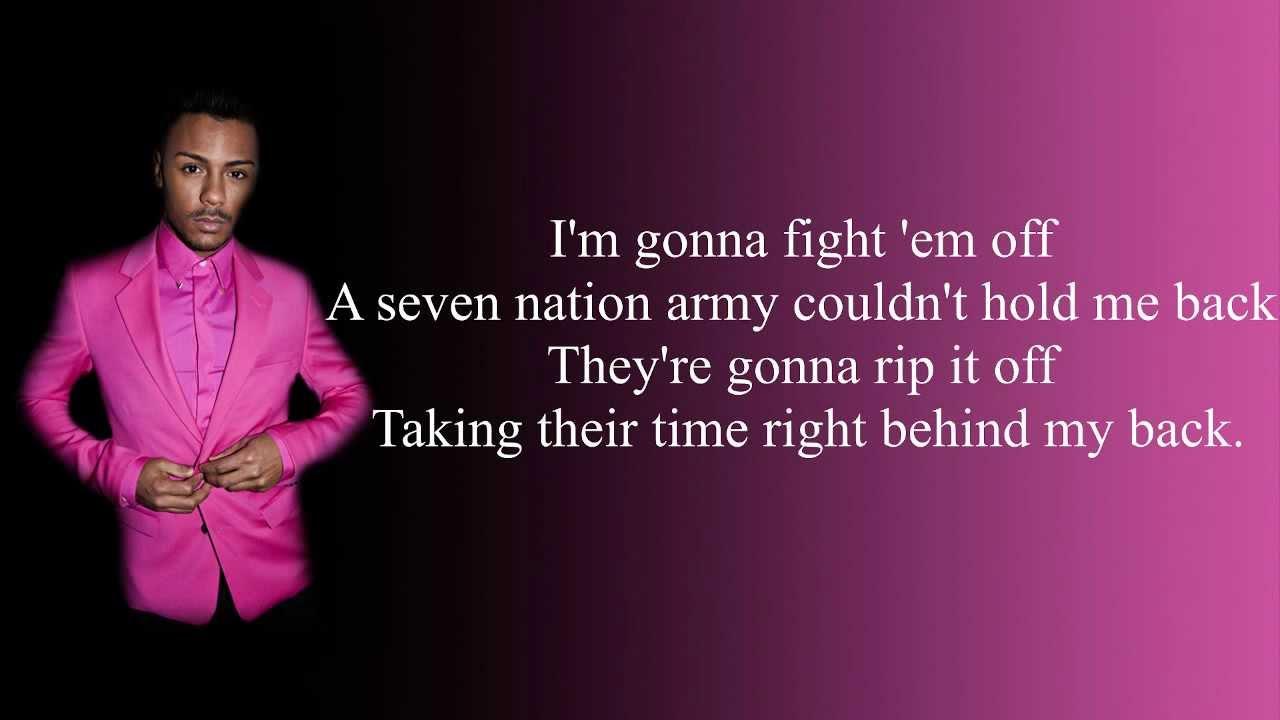 Marcus collins seven nation army lyrics hd youtube