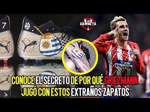 Conoce el secreto de por qué Griezmann jugó con estos extraños zapatos