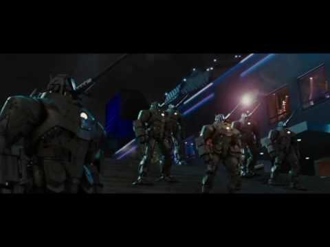 Iron Man VS War Machine & Hammer Drones - YouTube