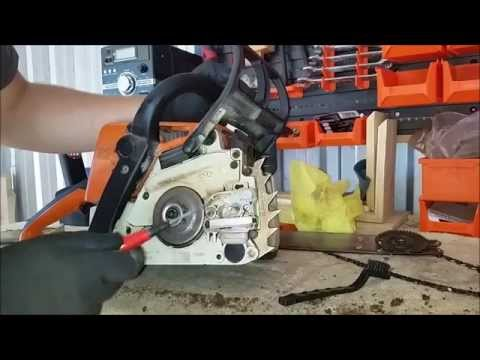 Chainsaw Cleaning and maintenance (part 1) MS 210
