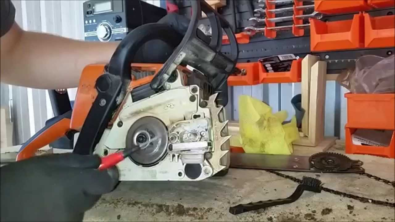 Chainsaw Cleaning And Maintenance Part 1 Ms 210