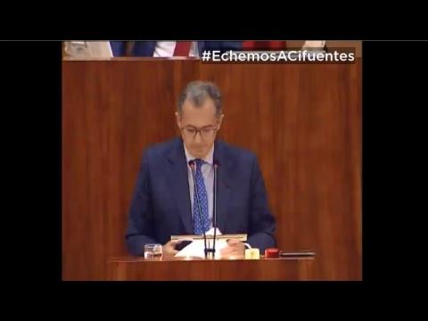 Pleno Asamblea de Madrid: moción de Censura a Cristina Cifuentes