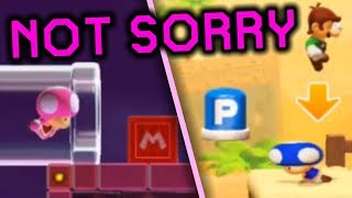 Being a horrible person in Multiplayer VS (Super Mario Maker 2)   Multiplayer #2